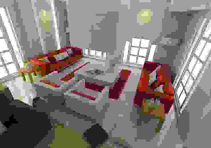 Bodrum Ev Tasarımı / Oturma Odası Modern Oturma Odası ŞEBNEM MIZRAK Modern Mermer