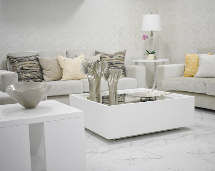 SALA Monica Saravia Salas modernas Blanco