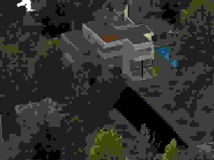 vista aerea Casas de estilo minimalista de OBS DISEÑO & CONSTRUCCION. Minimalista Concreto reforzado