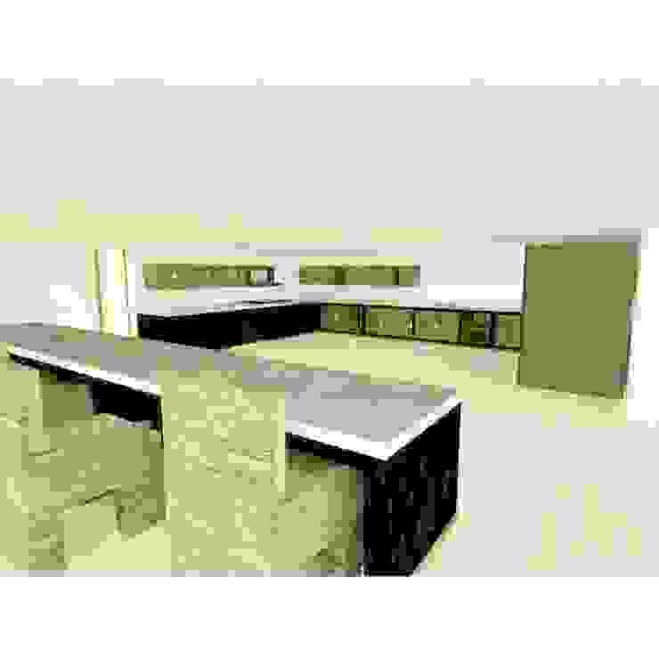 interior casa de OBS DISEÑO & CONSTRUCCION. Minimalista Concreto reforzado