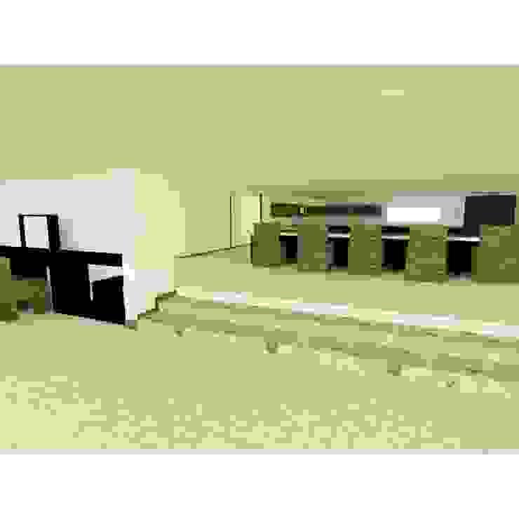 vivienda campestre de OBS DISEÑO & CONSTRUCCION. Minimalista Concreto reforzado