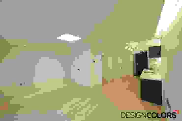 서초구 반포동 반포두산힐스빌 아파트 인테리어 22평 모던스타일 거실 by DESIGNCOLORS 모던
