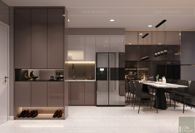 Thiết kế nội thất căn hộ Richstar Novaland - Phong cách hiện đại bởi ICON INTERIOR Hiện đại