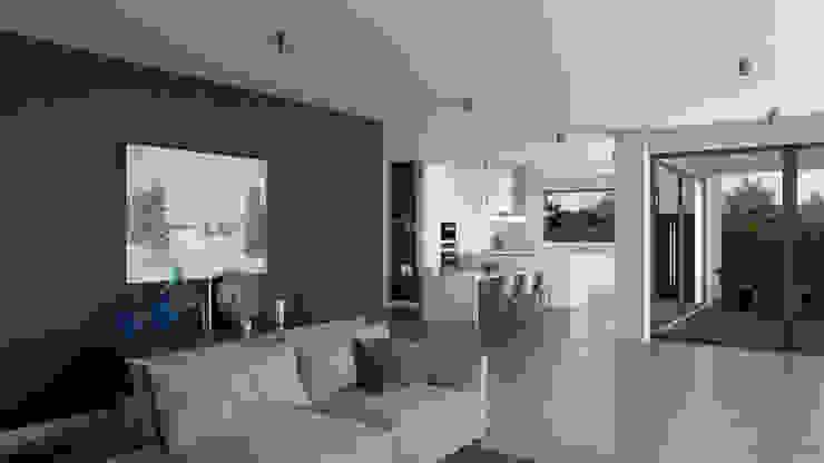 Dündar Design - Mimari Görselleştirme Кухня в стиле модерн