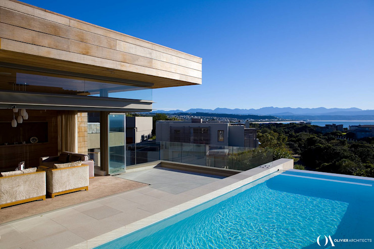 L \ HOUSE \\ Plettenberg Bay \\ Olivier Architects by Olivier Architects Modern