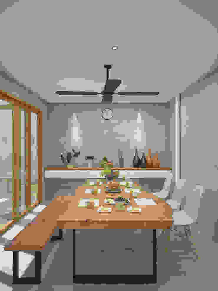 SL 09 House Ruang Makan Modern Oleh Inspace Studio Modern