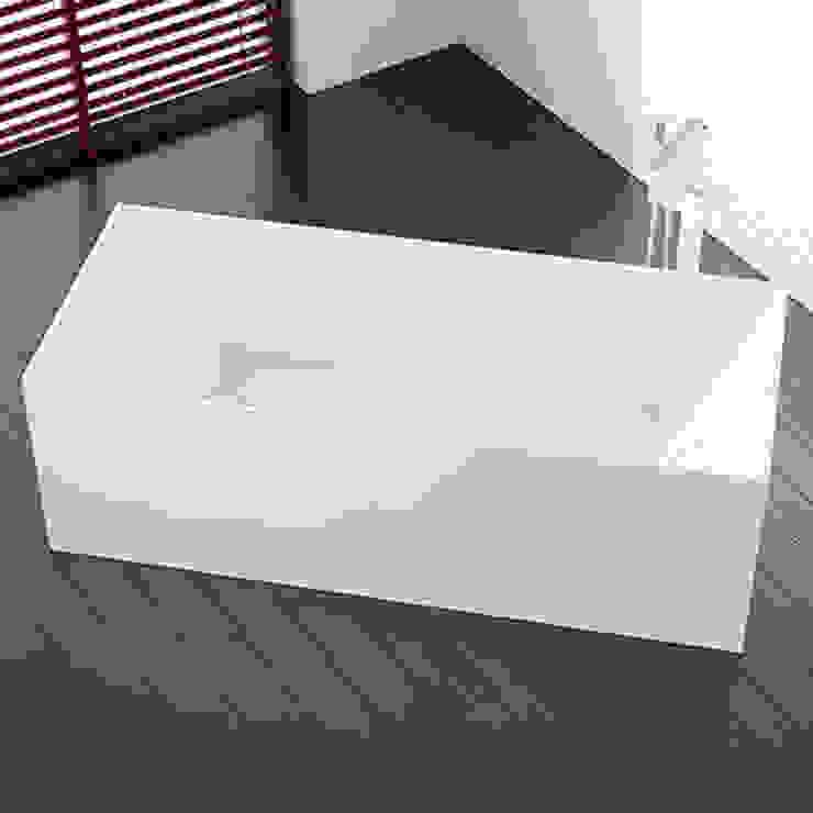 Ästhetische freistehende Badewanne BW-07: modern  von Badeloft GmbH - Hersteller von Badewannen und Waschbecken in Berlin,Modern