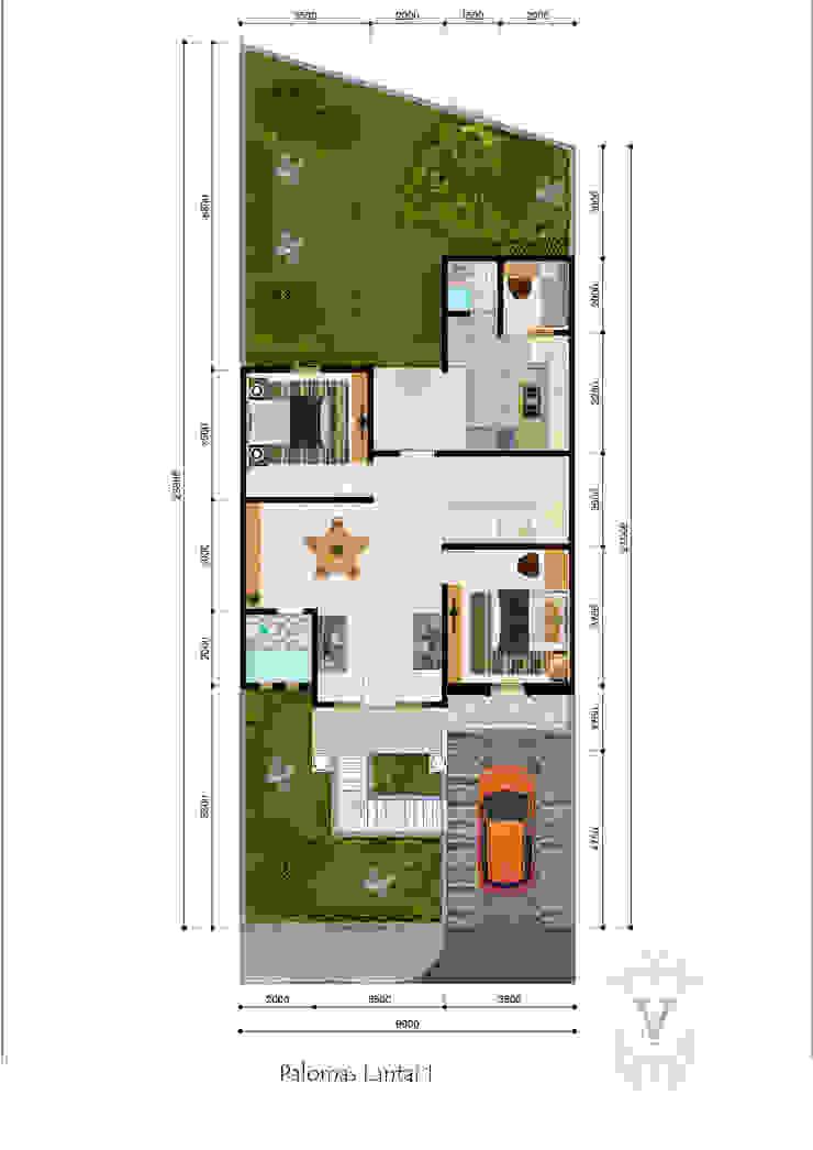 Denah Palomas Oleh Arsitekpedia