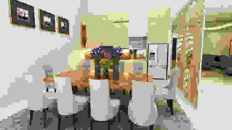 Private House Ruang Makan Modern Oleh Arsitekpedia Modern