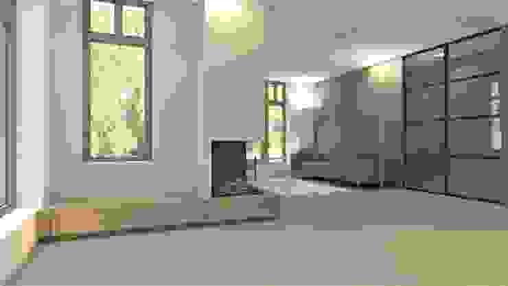 Woonkamer modern Moderne woonkamers van Studio DEEVIS Modern Hout Hout