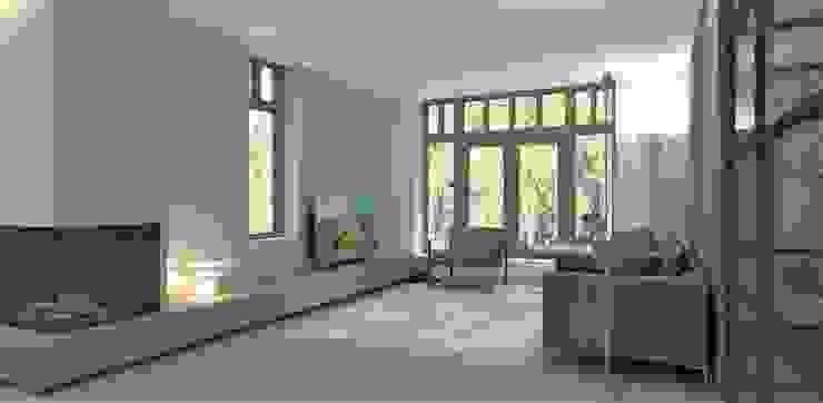 Wandmeubel Moderne woonkamers van Studio DEEVIS Modern Hout Hout