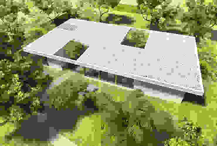 บ้านและที่อยู่อาศัย โดย SMF Arquitectos  /  Juan Martín Flores, Enrique Speroni, Gabriel Martinez,