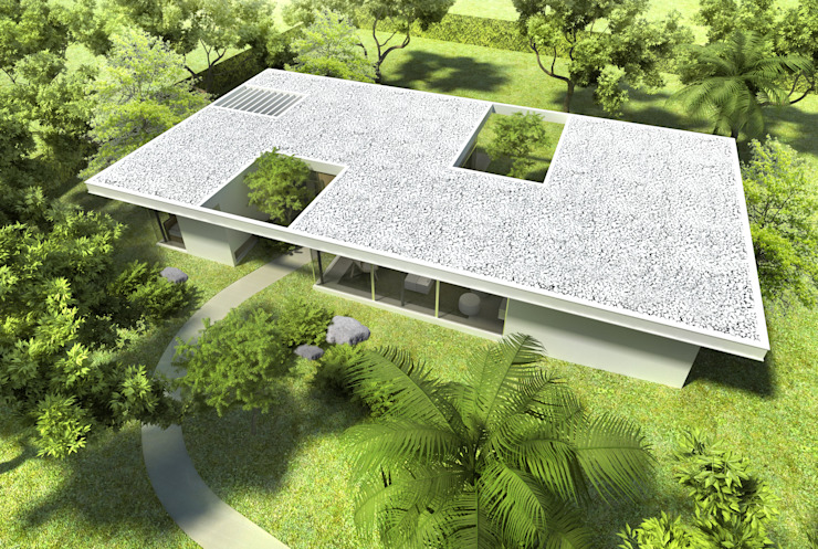 Modern home by SMF Arquitectos / Juan Martín Flores, Enrique Speroni, Gabriel Martinez Modern