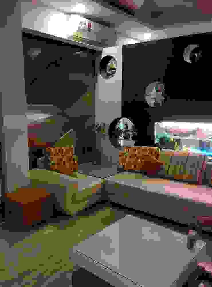 Living Room Modern Living Room by Design Kreations Modern
