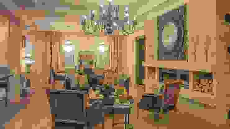 3BHK home in Mumbai Modern living room by Rebel Designs Modern