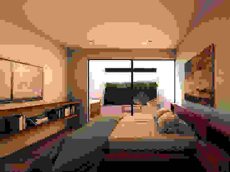 WERHAUS ARQUITECTOS Camera da letto minimalista