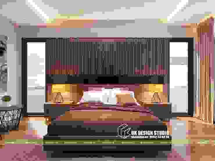 Nội thất phòng ngủ bởi UK DESIGN STUDIO - KIẾN TRÚC UK Châu Á