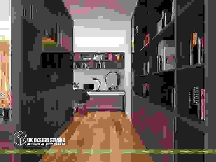 Nội thất phòng ngủ Phòng ngủ phong cách châu Á bởi UK DESIGN STUDIO - KIẾN TRÚC UK Châu Á