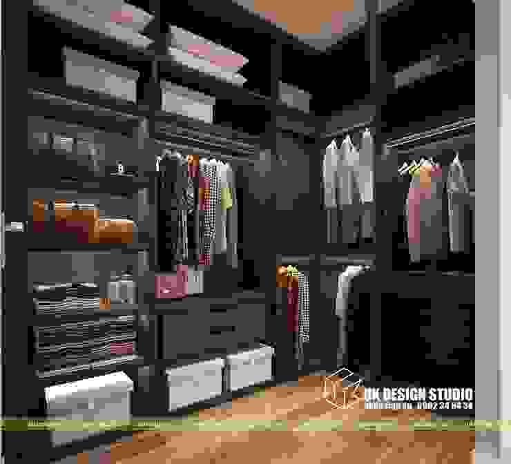 phòng thay đồ Phòng thay đồ phong cách hiện đại bởi UK DESIGN STUDIO - KIẾN TRÚC UK Hiện đại