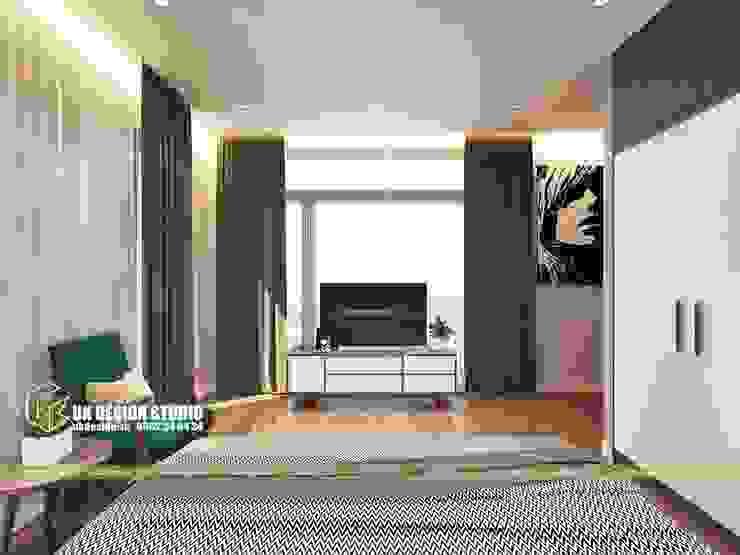 thiết kế phòng ngủ bởi UK DESIGN STUDIO - KIẾN TRÚC UK Châu Á