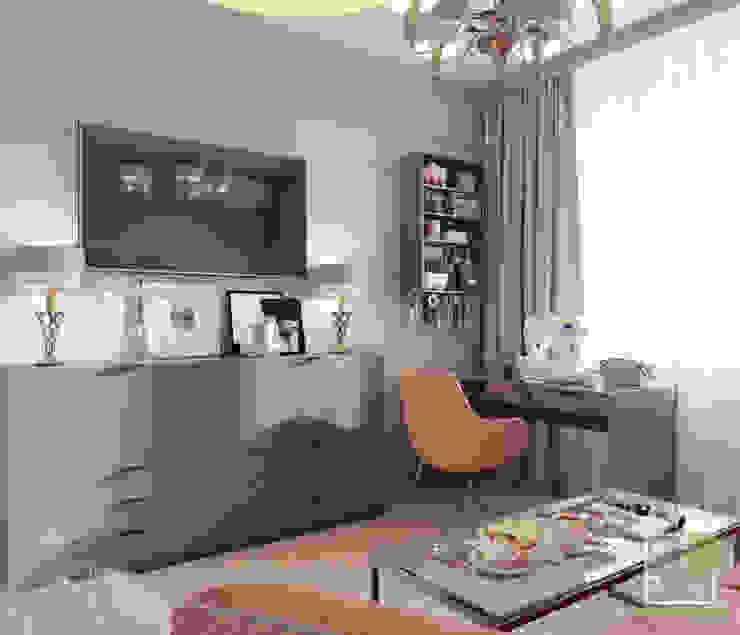 Комната для бабушки-рукодельницы Рабочий кабинет в эклектичном стиле от Елена Марченко (Киев) Эклектичный