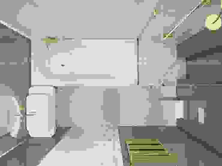 Легкая классика в изумрудных оттенках. Бюро Suite n.7 Ванная в классическом стиле от Suiten7 Классический Медь / Бронза / Латунь