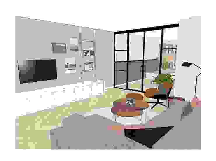 Ontwerp woonkamer van Blenddin Interieurontwerp & Advies