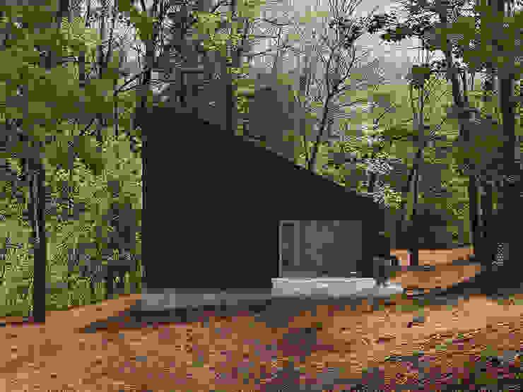 exterior Casas modernas de mutarestudio Arquitectura Moderno
