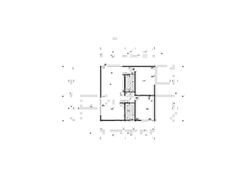 Planta Arquitectura Casas modernas de mutarestudio Arquitectura Moderno