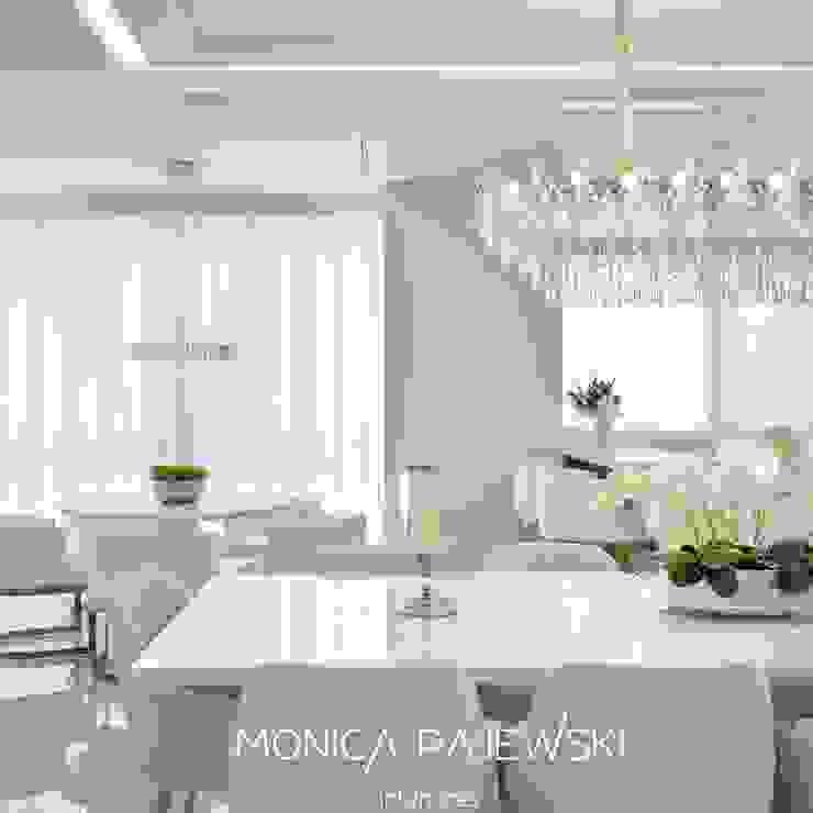 SALA DE JANTAR Monica Pajewski Interiores Salas de jantar modernas