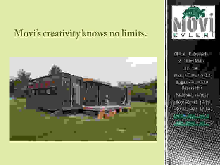MOVI SHIPPING CONTAINER HOMES 1 MOVİ evleri Küçük Evler