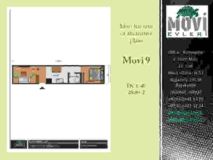 MOVI SHIPPING CONTAINER HOMES 1 MOVİ evleri Ahşap ev