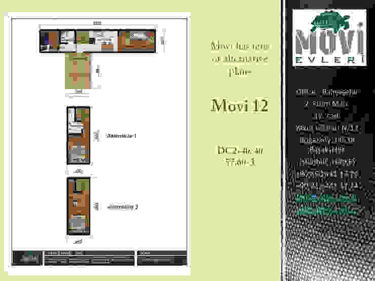 MOVI SHIPPING CONTAINER HOMES 1 MOVİ evleri Müstakil ev