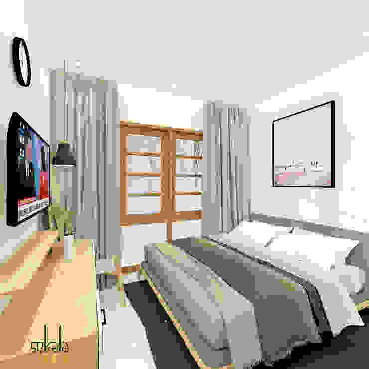 Habitaciones modernas de SEKALA Studio Moderno Ladrillos