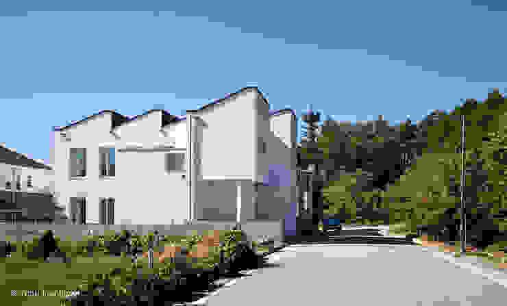 외관 모던스타일 주택 by 건축사사무소 모뉴멘타 모던
