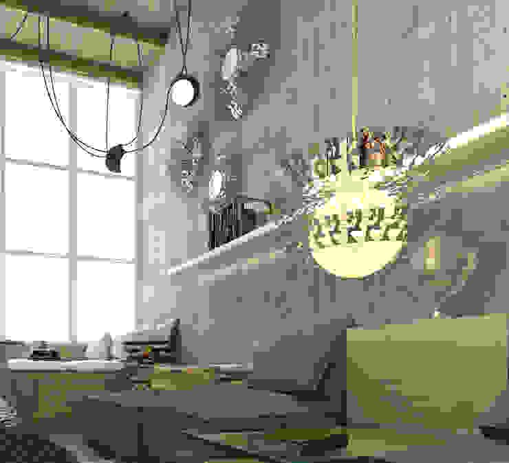 POWL Studio Living roomLighting