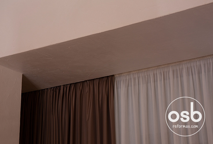 acabados de falsos techos de osb arquitectos Rústico