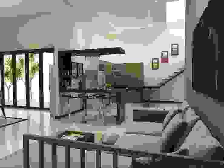 Interior Bp IP Ruang Keluarga Modern Oleh Arsitekpedia Modern