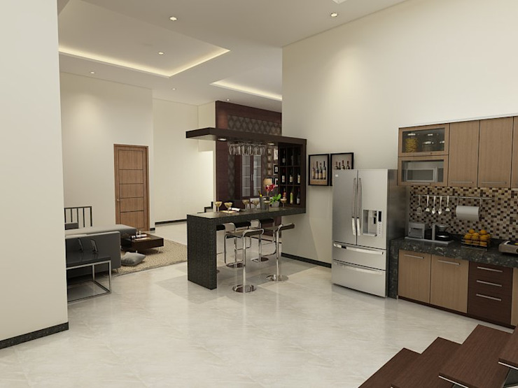 Modern kitchen by Arsitekpedia Modern
