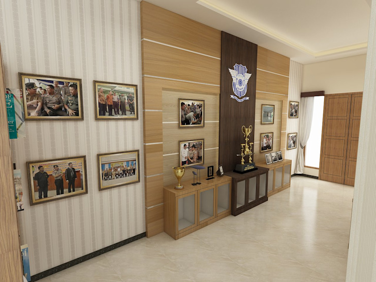 Interior Bp IP Koridor & Tangga Modern Oleh Arsitekpedia Modern