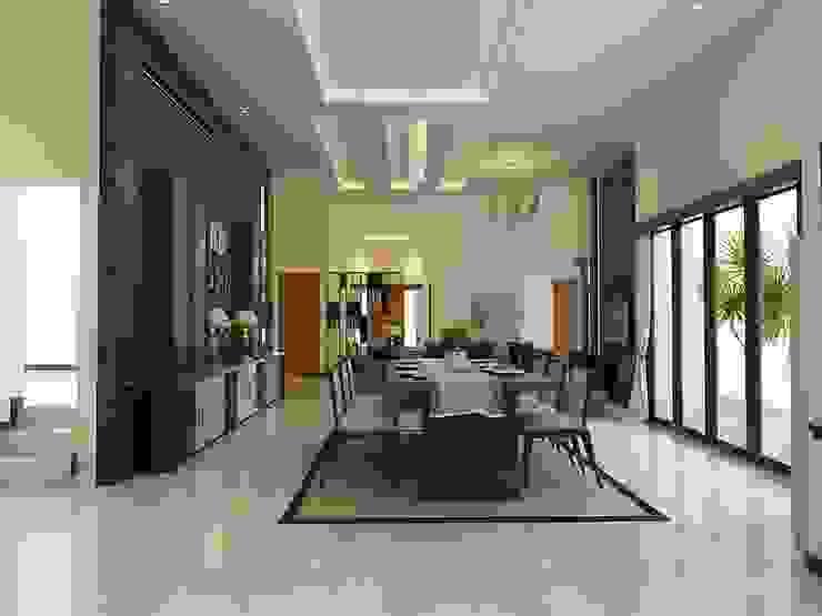 Interior Bp IP Ruang Makan Modern Oleh Arsitekpedia Modern