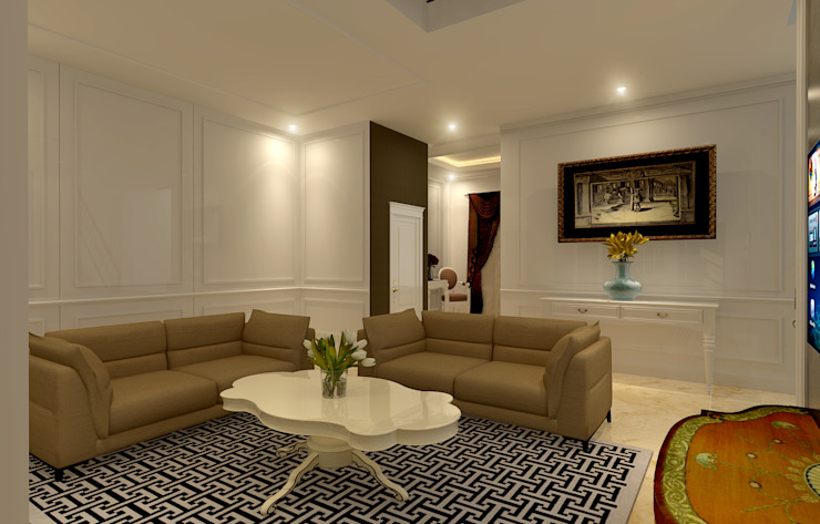 Classic style living room by Arsitekpedia Classic