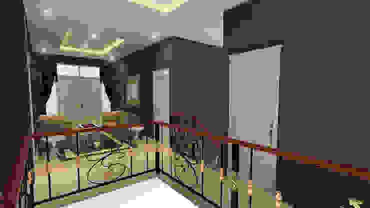 Rumah Klasik Koridor & Tangga Klasik Oleh Arsitekpedia Klasik