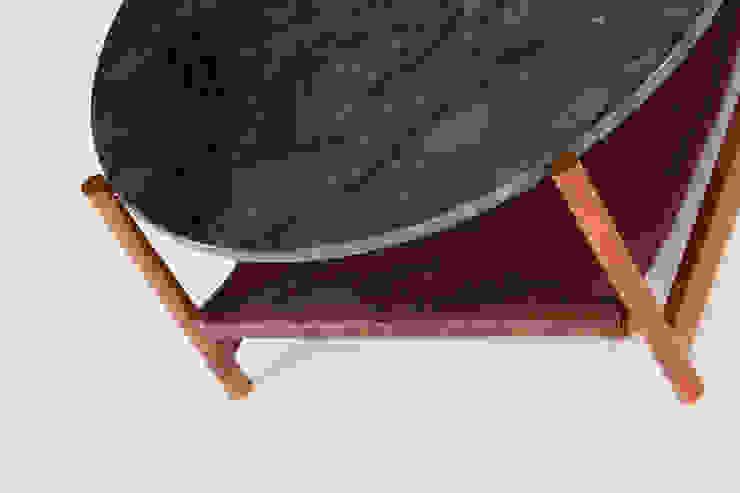 green marble, ipe de AYLE Minimalista Mármol