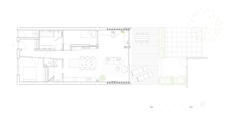 Floor Plan After by Kevin Veenhuizen Architects