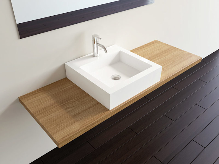 Badeloft - Badewannen und Waschbecken aus Mineralguss und Marmor Kamar Mandi Modern