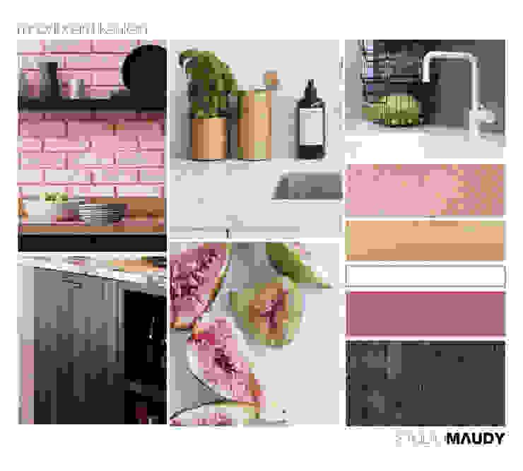 Look and feel kitchen in Amsterdam van studiomaudy