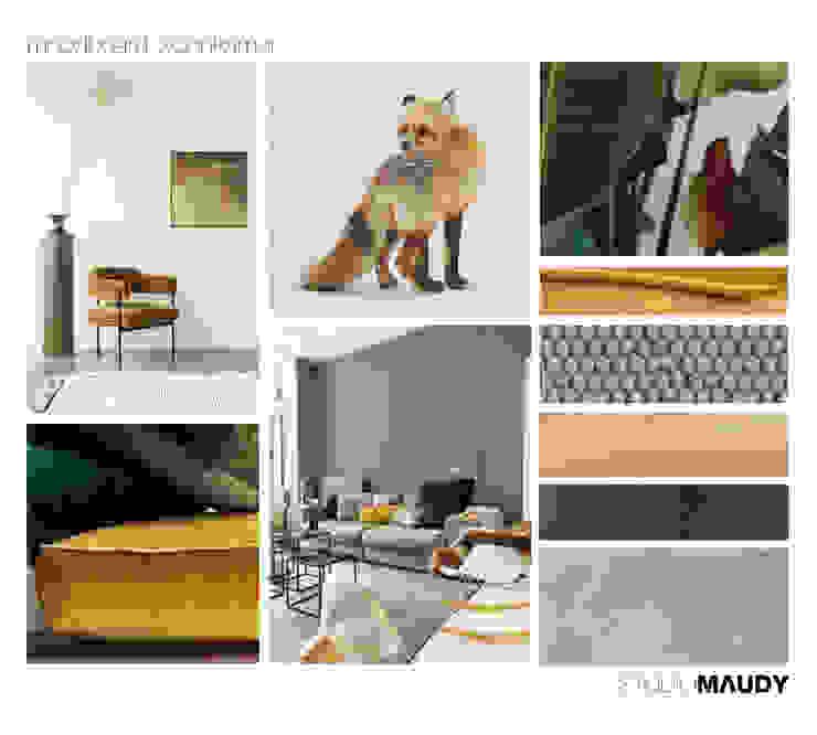 Look and feel living room van studiomaudy