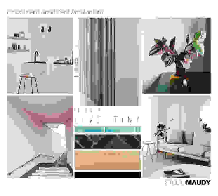 Look and feel mini house in Amsterdam van studiomaudy