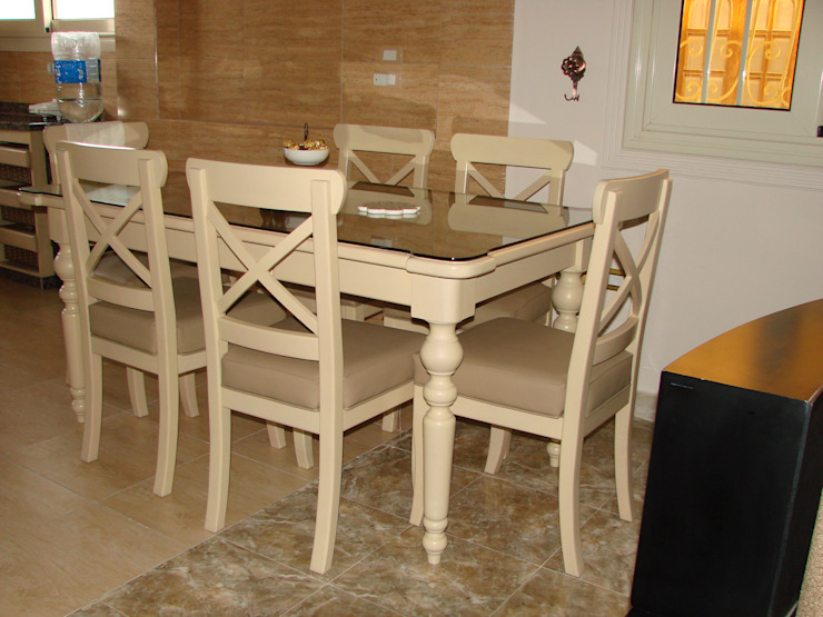 rustic  by m furniture - moshir abdallah, Rustic Wood Wood effect